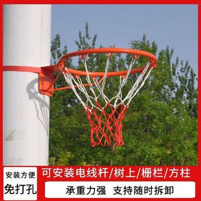 65825/室内外家用壁挂式篮球架树上成人儿童篮球投篮框免打孔学校篮球框