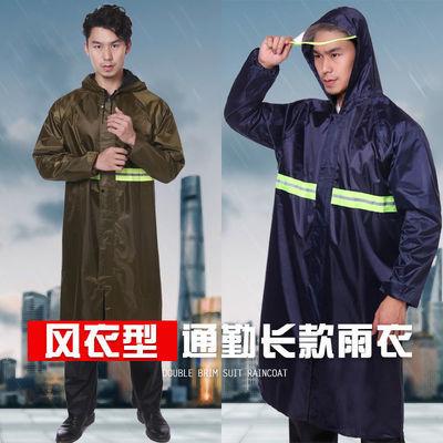 31077/雨衣男防暴雨全身工地单人长款干活徒步成人连体加厚加大雨衣