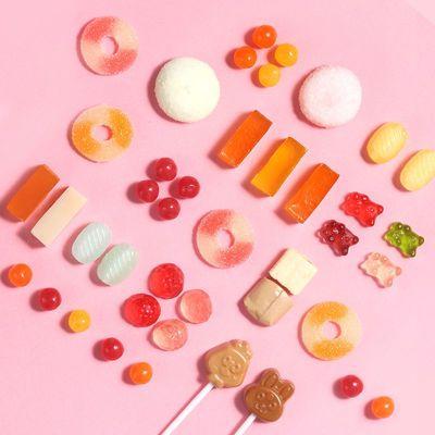 徐福记糖果混合装批发硬糖软糖奶糖酥糖牛轧糖高端高颜值多种年货