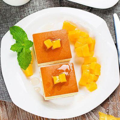 【买一送一】水果夹心蛋糕香蕉牛奶味早餐芒果糕点酸奶味抹茶零食
