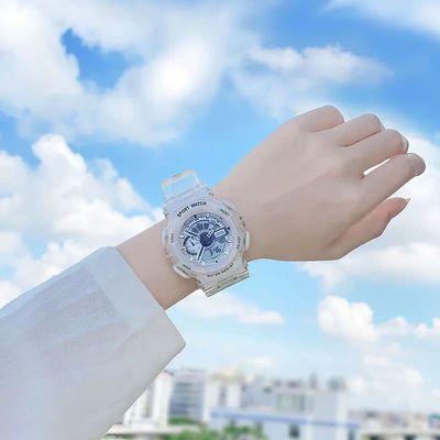 74085/少女学生夜光多功能女表运动潮男电子手表时尚气质原宿舍风