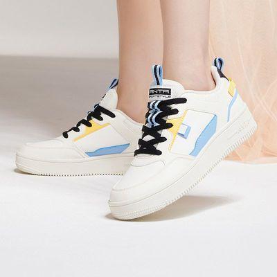 74190/安踏女鞋时尚休闲板鞋2021春季新款运动鞋小白鞋潮流鞋子官网正品