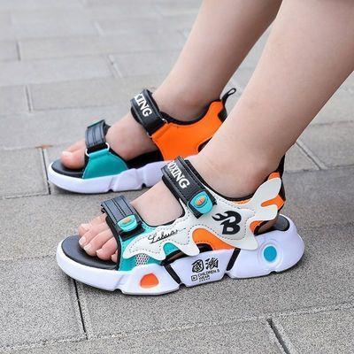 32718/男童凉鞋2021新款夏季中大童防滑软底儿童鞋子小男孩韩版宝宝鞋潮