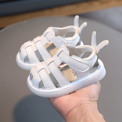 39425/夏季宝宝凉鞋女童凉鞋小童包头婴儿鞋男学步鞋软底一岁宝宝宝鞋子