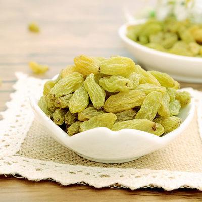 【买3件送2斤】新货新疆黄绿葡萄干无核大颗粒吐鲁番无核白干