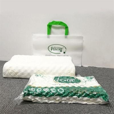 92960/【】新泰国大V牌天然乳胶枕头单人多功能护颈乳胶枕芯