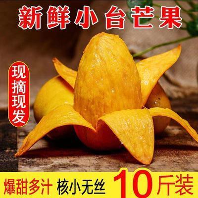 【核小肉厚】小台农芒果当季应季新鲜水果3/5/10斤整箱批发包邮