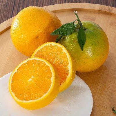 酸酸甜甜 新鲜夏橙3斤装(单果100g)橙子水果包邮