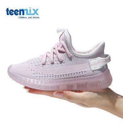 78770/天美意儿童运动鞋男女生2021新款软底透气轻便百搭学生跑步休闲鞋