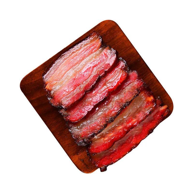 【湖南烟熏腊肉五花腊肉米糠腊肉腊味腊猪耳朵猪蹄猪脚赛四川腊肉