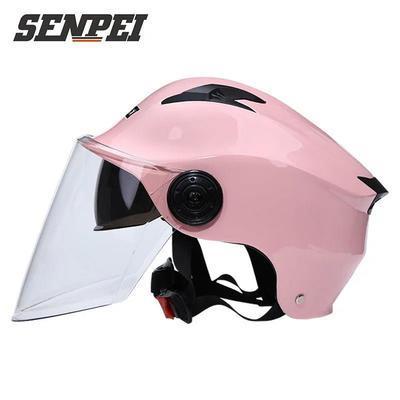 电动电瓶车头夏季透气盔男女士四季通用半盔全盔轻便安全帽