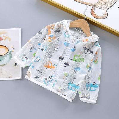 儿童防晒衣男女童婴儿宝宝夏季外套皮肤衣防紫外线防嗮服薄款透气