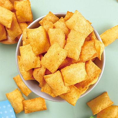 薯片香脆膨化小米锅巴香辣粗粮办公室休闲小零食批发大包装1包42g