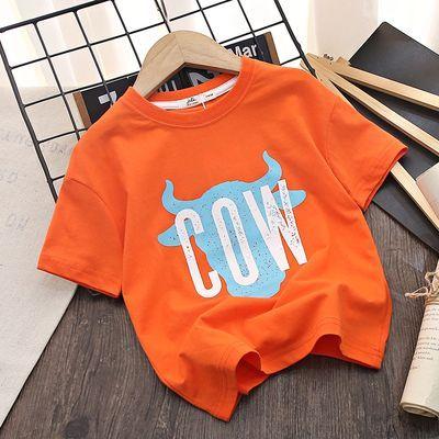 童装男童短袖T恤儿童夏装2021夏款中大童装宝宝纯棉上衣打底半袖