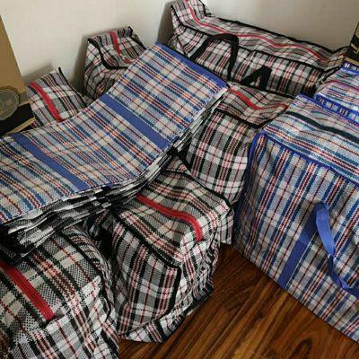 特大加厚防水旅行袋搬家袋衣物棉被收纳袋蛇皮编织袋牛津袋行李袋