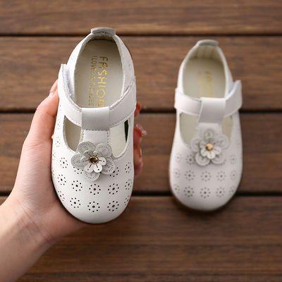 女童皮鞋2021春秋新款镂空韩版潮小女孩时尚公主鞋