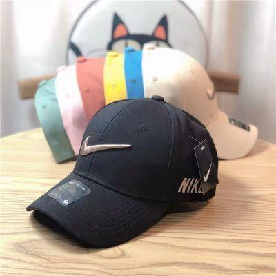 75842/夏季新款帽子女韩版硬顶棒球帽休闲百搭鸭舌帽男防晒遮阳运动帽