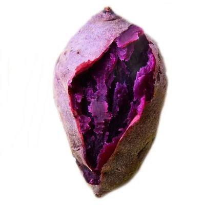 新鲜 现挖小紫薯农家自种小紫薯两斤装