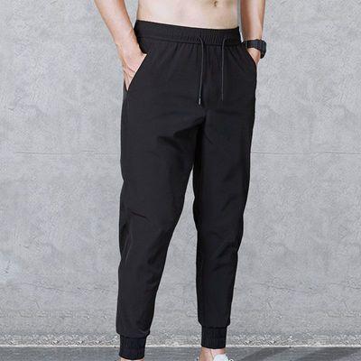 (特价)夏季新款男休闲弹力长裤宽松运动修身百搭小脚哈伦束脚裤