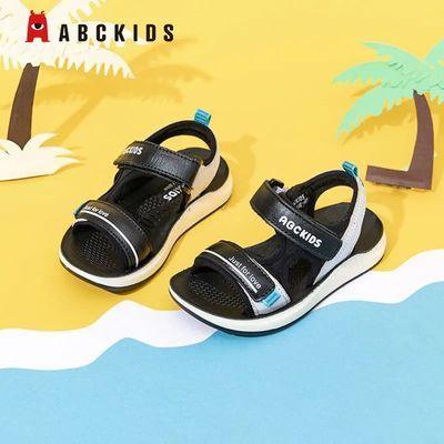 32503/Abc kids夏季新款男童凉鞋 透气防滑皮凉鞋