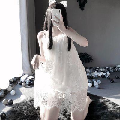 33410/性感睡衣女迷人夏季吊带蕾丝花边睡裙新款时尚火辣动人大码家居服