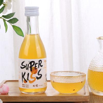 Superkiss 低度女士甜酒果味微醺6°小瓶酒晚安酒水果发酵高颜值