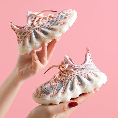 32220/儿童运动鞋夏秋季2021新款网鞋小女孩透气网面鞋子椰子鞋男童童鞋