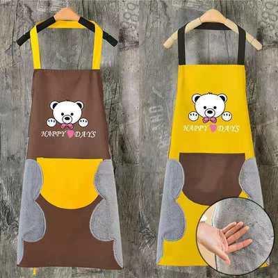 35333/围裙厨房家用防水防油防污女时尚夏季上班薄款透气洋气可爱工作服