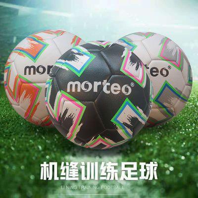 32473/morteo足球5号中小学生儿童球男青少年标准训练比赛用球机缝足球