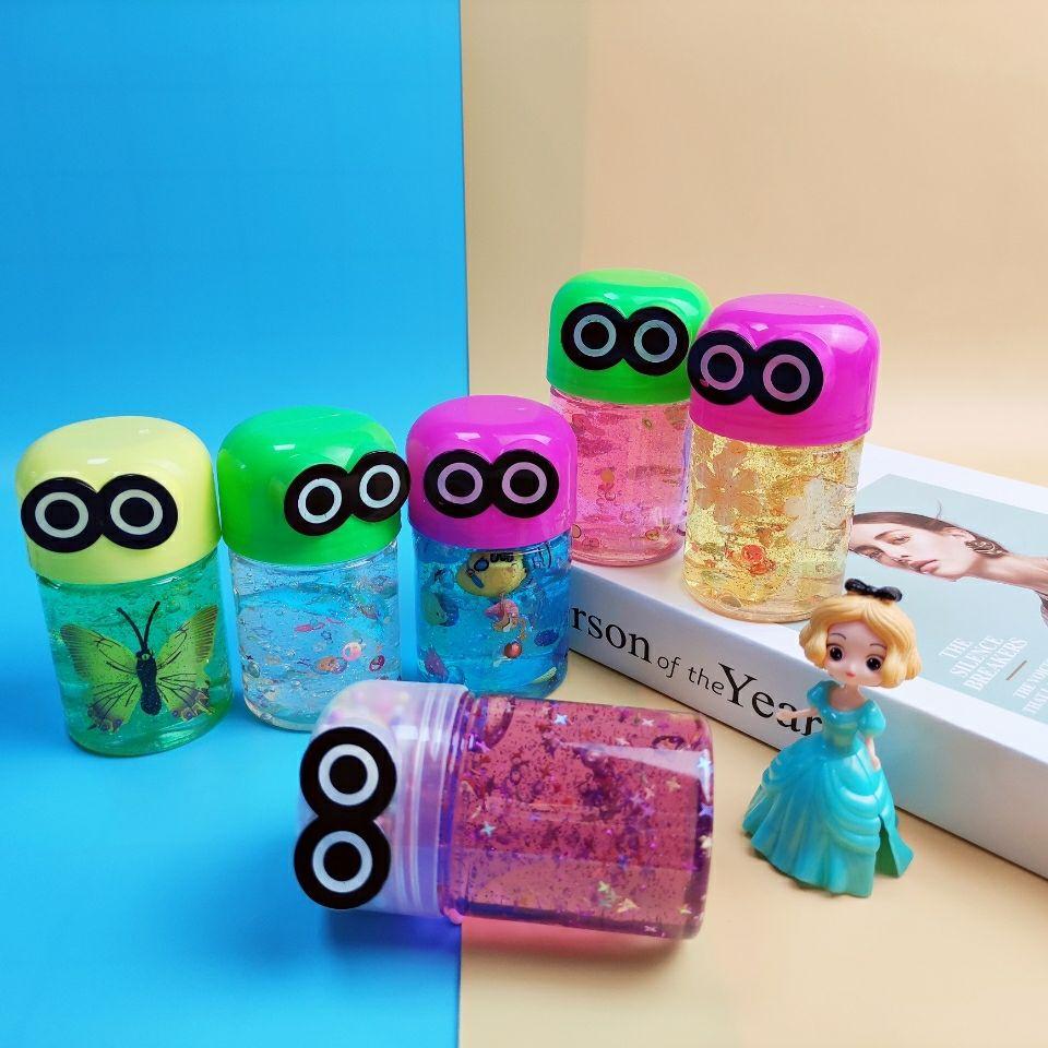 超透水晶泥起泡胶出口外贸抖音爆款儿童益智玩具生日礼物送人卡通