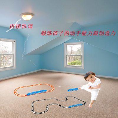 赠送电池 托马斯小火车玩具电动轨道赛车儿童益智玩具车3-6岁男孩