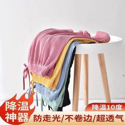 34813/冰丝短裤女夏装2021年新款高腰宽松学生时尚休闲跑步瑜伽居家短裤