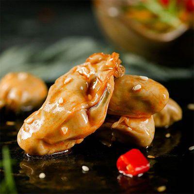 常温麻辣小海鲜牡蛎肉 130克罐装香辣生蚝海鲜罐头