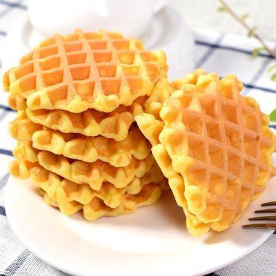 34815/宅小熙华夫饼整箱蛋糕点充饥夜宵速食小吃的零食品营养早餐面包