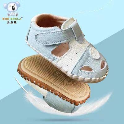 34059/屁屁熊女童凉鞋夏季婴儿学步专用1至3岁宝宝鞋