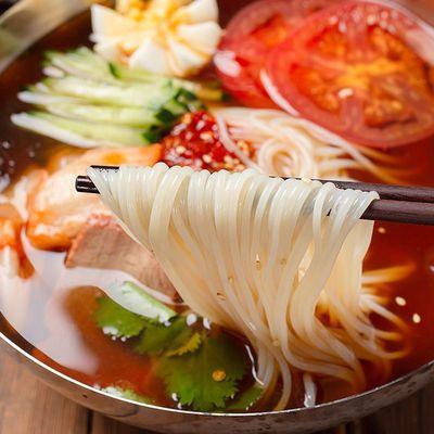 39771/大分量380g东北延边正宗荞麦小麦冷面调料齐全韩式朝鲜族方便速食