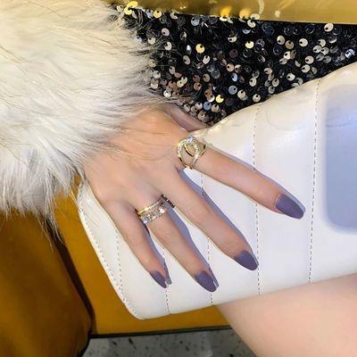 75241/戒指韩国时尚个性冷淡轻奢小众设计夸张高级感气质ins潮食指戒女