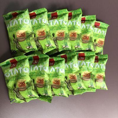 嘉海食品 五香烧烤味膨化薯片 印度飞饼 20小包