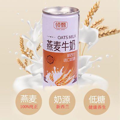 【特价】燕麦牛奶低糖五谷杂粮240ml易拉罐整箱批发非谷糕多礼盒