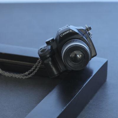 36459/潮牌佳能徕卡玩具饰品复古迷你小相机男女潮流项链包包配饰挂件