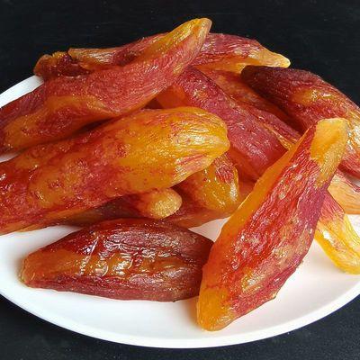 带皮农家倒蒸红薯干 软糯番薯干小香薯小零食特产自制地瓜干250g