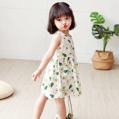 童装宝宝公主裙女童连衣裙小童夏装2021新款儿童裙子纯棉
