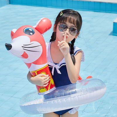 加厚十二生肖浮圈成人游泳圈儿童救生圈充气腋下圈双层浮圈手臂圈