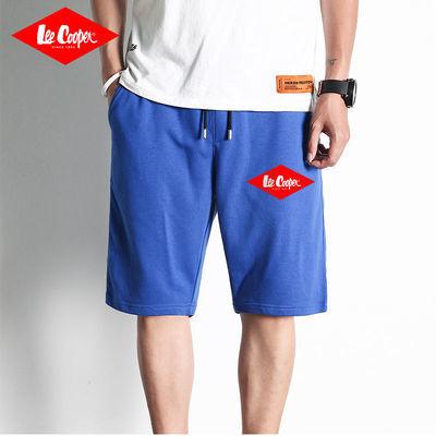 37612/Lee Cooper短裤男2021年夏季新款潮流宽松休闲运动纯棉薄款五分裤