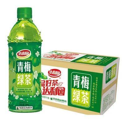 89832/新货 达利园青梅绿茶500mL*5瓶/15瓶 夏季果味茶饮料整箱特价批发
