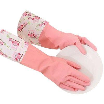 72916/3双装曼妙橡胶厨房洗碗家居洗衣耐用家务清洁手套