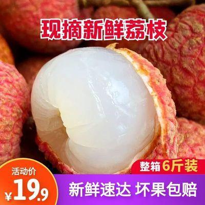 39489/福建黑叶荔枝新鲜水果现摘乌叶荔枝孕妇时令特产水果荔枝6斤4批发