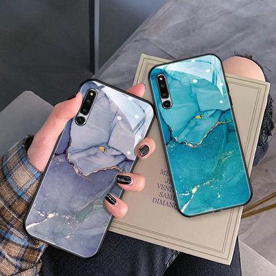 55748/荣耀magic2手机壳玻璃全包硅胶荣耀magic2超薄防摔个性时尚保护壳