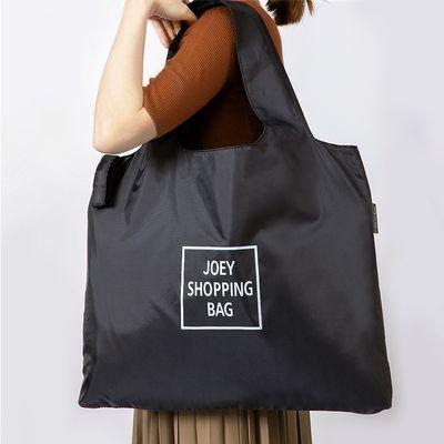 75442/便携可折叠购物袋外出时尚大容量布袋买菜包防水手提袋子环保袋女