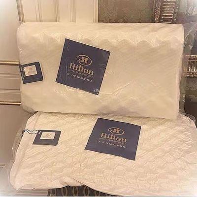 39991/希尔顿记忆乳胶枕头保健枕泰国进口软枕头酒店专用记忆枕芯一只装